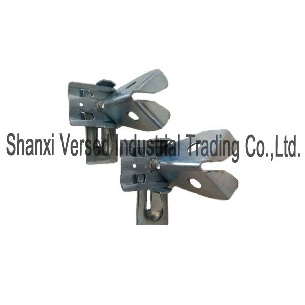 Formwork parts snap bracket