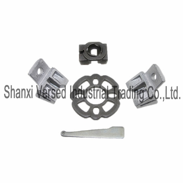 Ringlock Scaffolding steel rosette wedge ledger head brace end