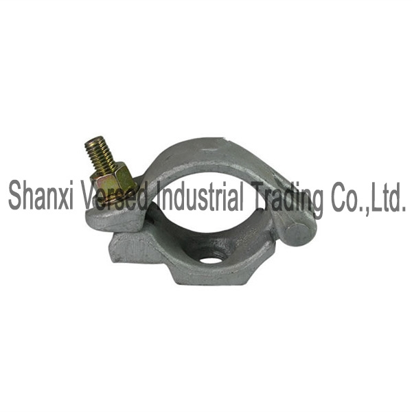 Drop forged half coupler