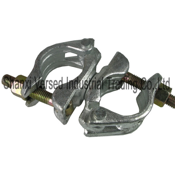 Scaffolding pipe clamps