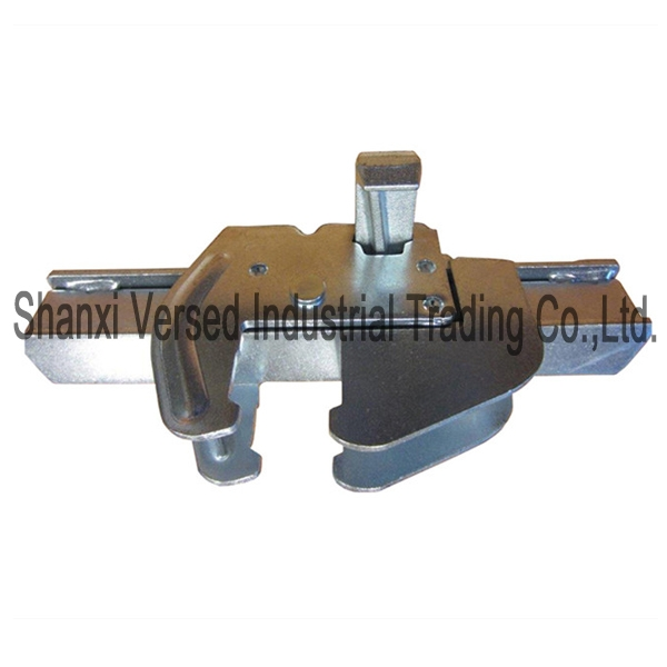 Steel construction formwork clamp