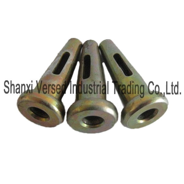 Aluminium formwork round pin and wedge pin