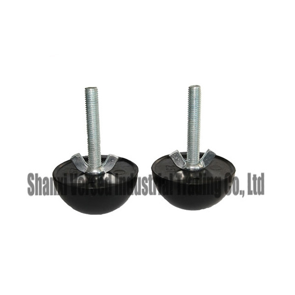 Precast concrete anchor rubber former with steel screw