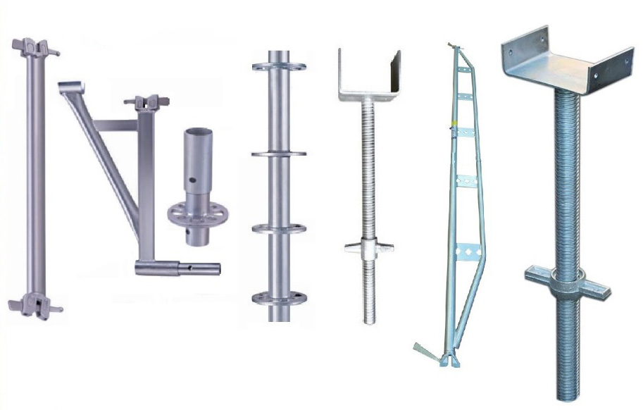 Scaffolding Parts Suppliers : Steel ringlock scaffolding parts professional supplier