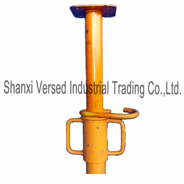 Alu Clamp Shoring Prop : Different adjustable length t head concrete post supports