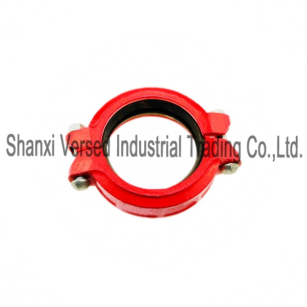 Ductile iron grooved end pipe fitting pipe coupling