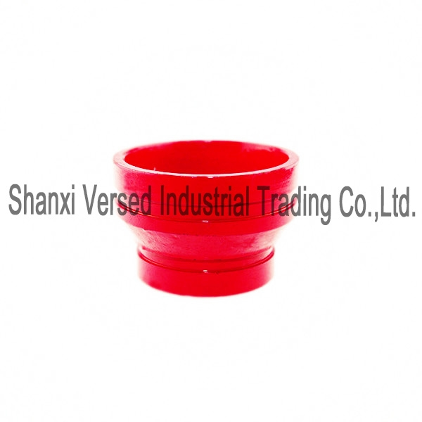 Grooved end pipe fittings reducer threaded