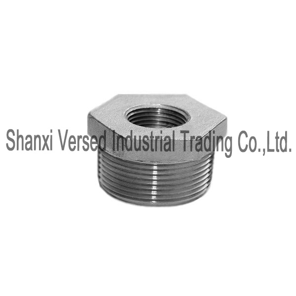304 stainless steel hex bushing