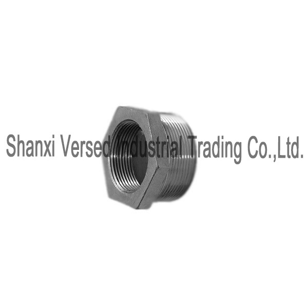 Stainless steel pipe fitting hex bushing