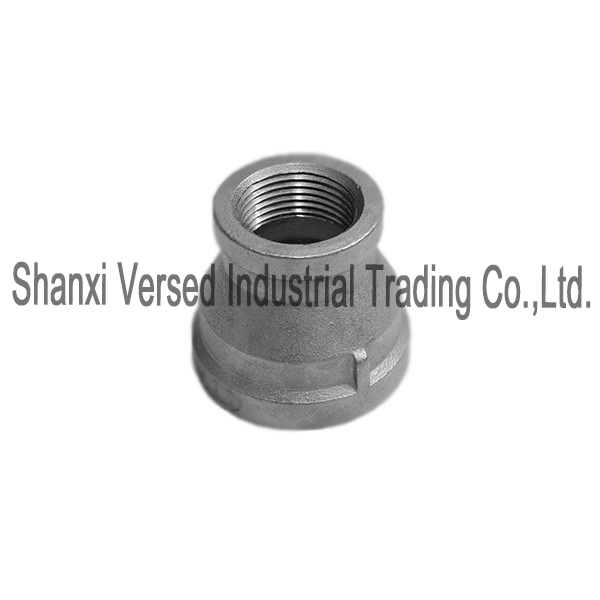 Pipe fitting stainless steel reducing coupling