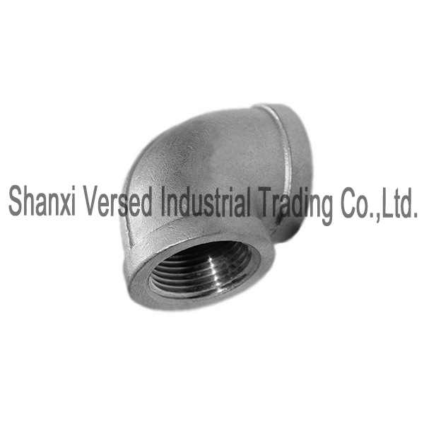 Stainless steel pipe fitting reducing elbow